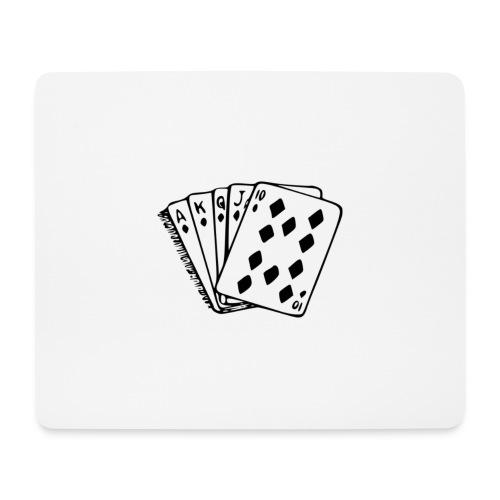 Royal Flush - Mousepad (Querformat)