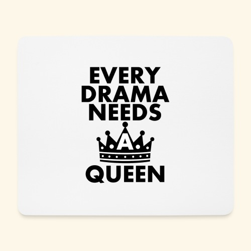 EVERY DRAMA black png - Mouse Pad (horizontal)