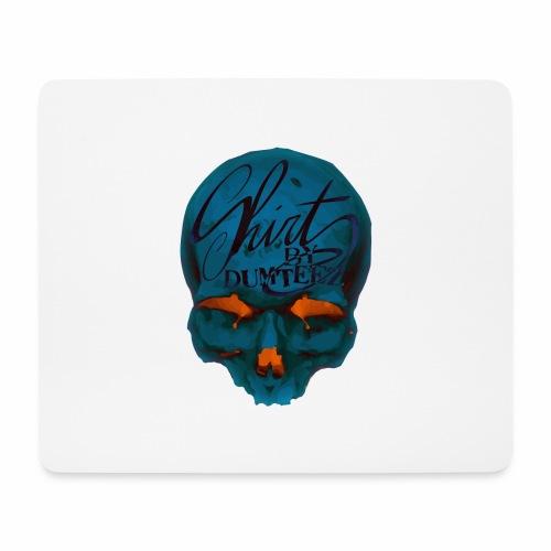 Dum Skull Orange glow - Muismatje (landscape)