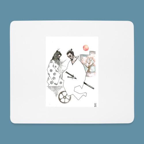 Samurai copia jpg - Tappetino per mouse (orizzontale)
