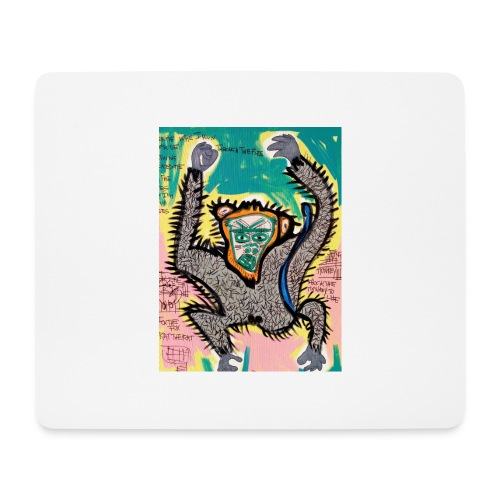 the monkey - Tappetino per mouse (orizzontale)