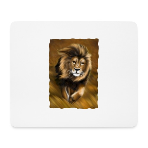 Il vento della savana - Tappetino per mouse (orizzontale)