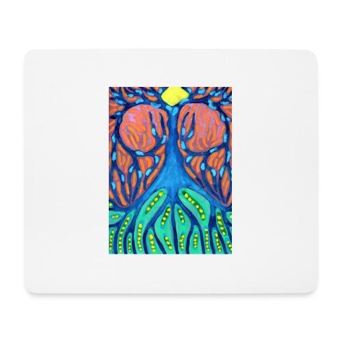 Drapiężne Drzewo - Podkładka pod myszkę (orientacja pozioma)
