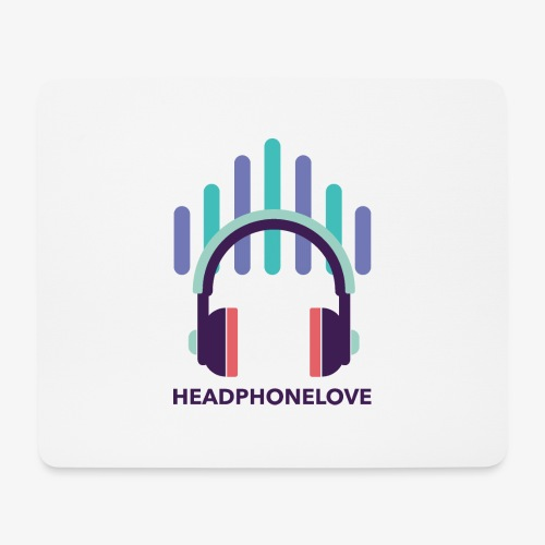 headphonelove - Mousepad (Querformat)