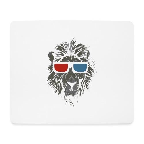 Lion 3D - Musmatta (liggande format)