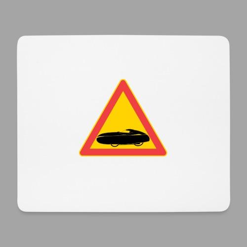 Traffic sign velomobile - Hiirimatto (vaakamalli)