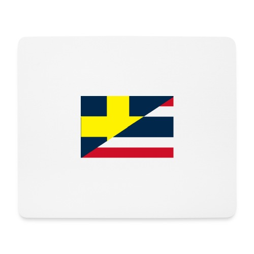 thailands flagga dddd png - Mouse Pad (horizontal)