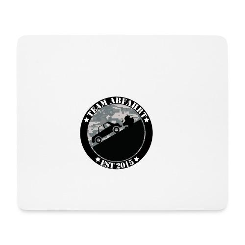 Team Abfahrt Final Military png - Mousepad (Querformat)