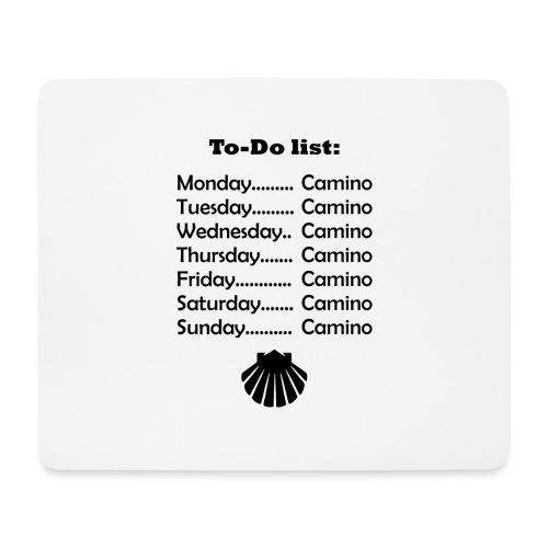 To-do list: Camino - Mousepad (bredformat)