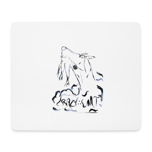 Crazy Goat 1 - Tapis de souris (format paysage)