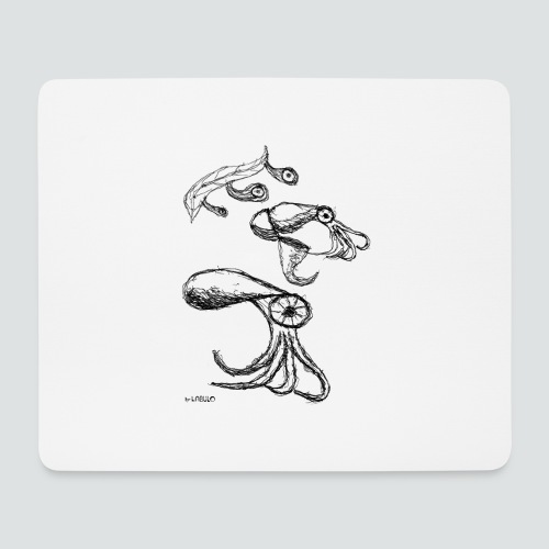 Octopussy png - Mousepad (Querformat)