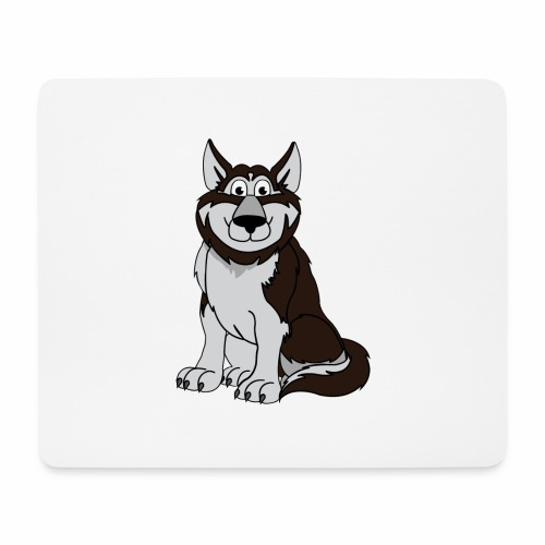 Husky - Mousepad (Querformat)