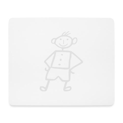 me-white - Mousepad (Querformat)