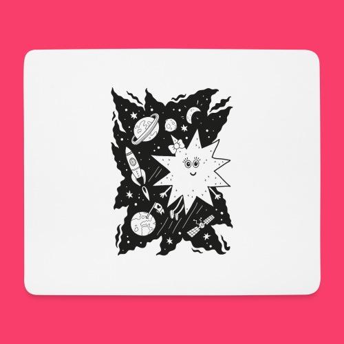 Stella Stern zum Ausmalen - Mousepad (Querformat)