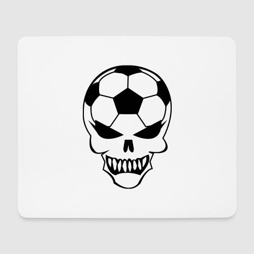 Fußball-Totenkopf - Mousepad (Querformat)