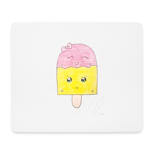 Kids for Kids: Icecream - Mousepad (Querformat)
