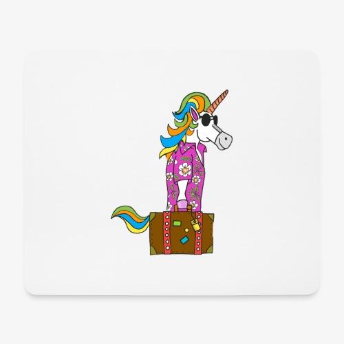 Unicorn trip - Tapis de souris (format paysage)