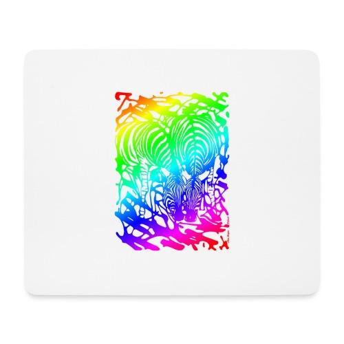 Rainbow Zebras - Hiirimatto (vaakamalli)