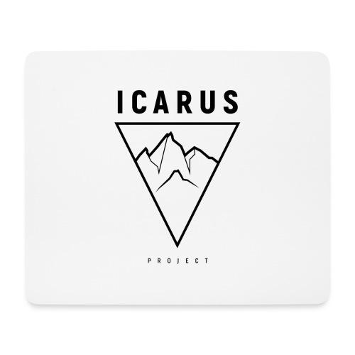 LOGO ICARUS noir - Tapis de souris (format paysage)