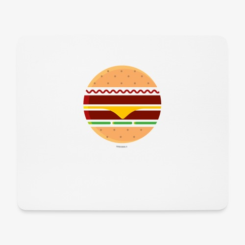Circle Burger - Tappetino per mouse (orizzontale)