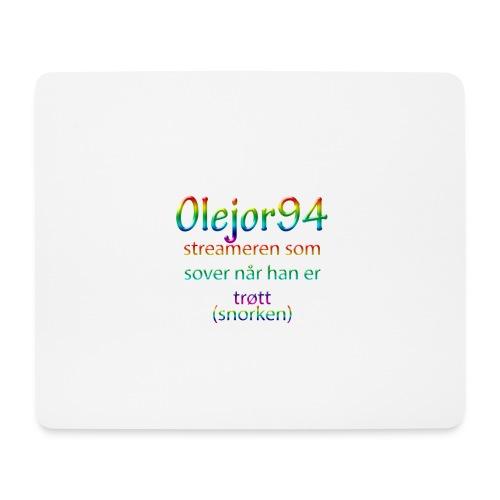 Olejor94 sover snorken - Musematte (liggende format)
