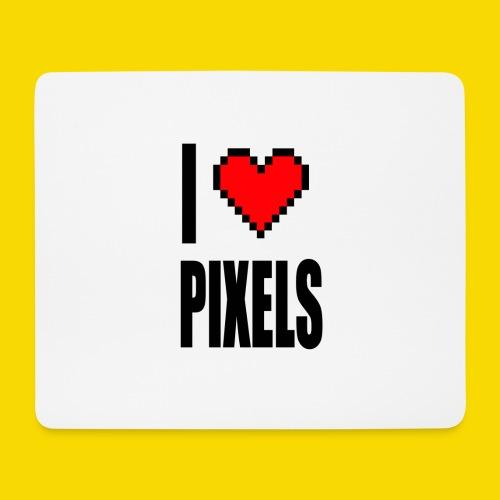 I Love Pixels - Podkładka pod myszkę (orientacja pozioma)