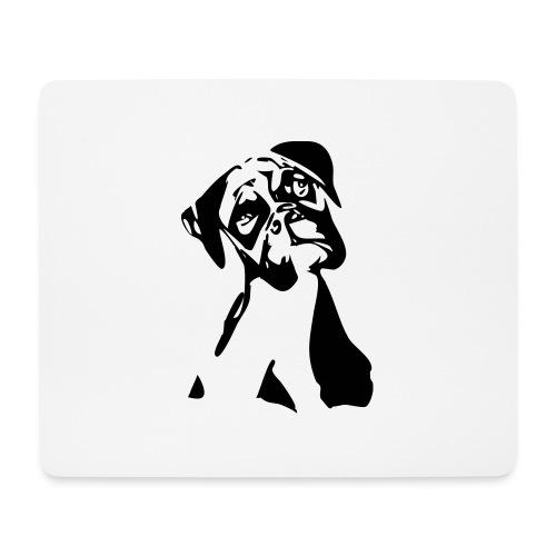 Boxer - Mousepad (Querformat)