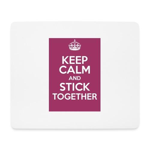 Keep calm! - Mouse Pad (horizontal)