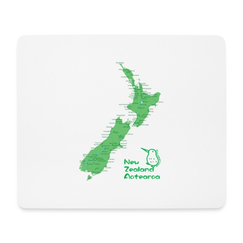 New Zealand's Map - Mouse Pad (horizontal)