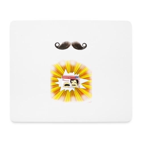 Moustache ad - Mouse Pad (horizontal)