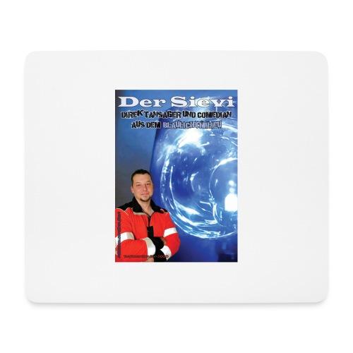 Direktansager und Komiker aus dem Blaulichtmilieu - Mousepad (Querformat)