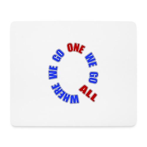 Q Anon- Where we go 1 we go all - Hiirimatto (vaakamalli)