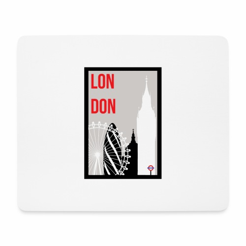 London Skylines - Mouse Pad (horizontal)