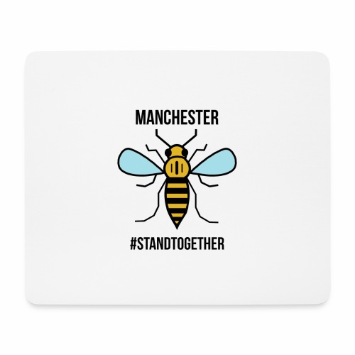 Manchester Bee - Mouse Pad (horizontal)