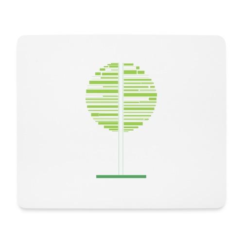 Grønt træ - Mousepad (bredformat)