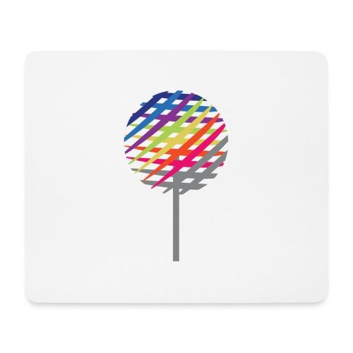 Rainbow Tree - Mousepad (bredformat)