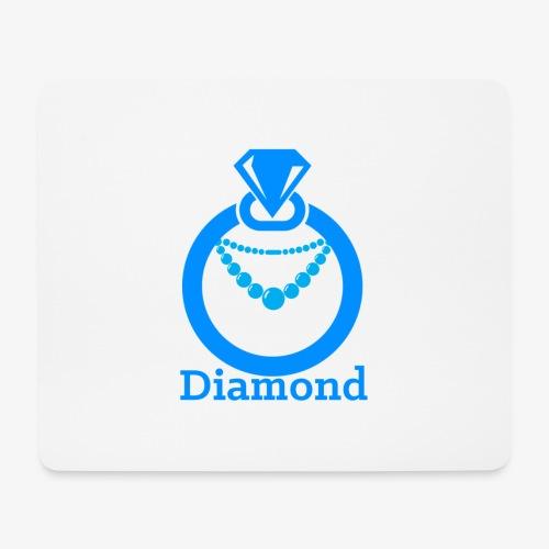 Diamond - Mousepad (Querformat)