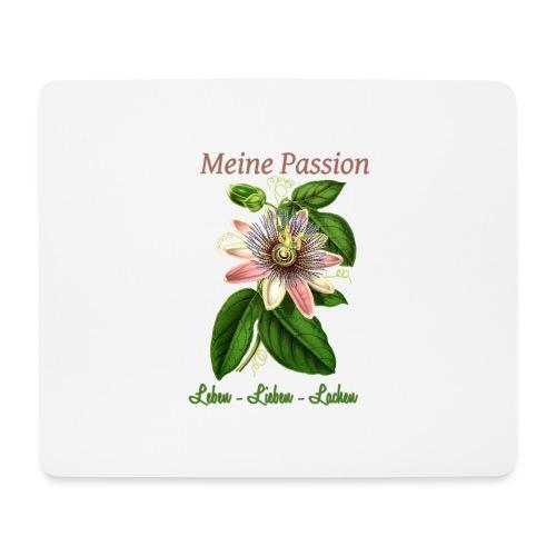 Meine Passion Leben Lieben Lachen - Mousepad (Querformat)