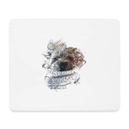 chien - Tapis de souris (format paysage)