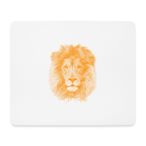 lionking (orange) - Mouse Pad (horizontal)