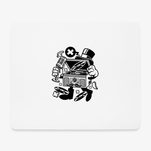 Platine vinyle classique - Tapis de souris (format paysage)