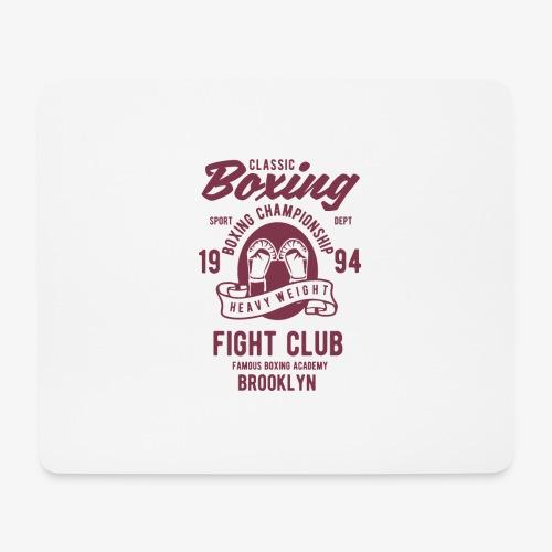 Classic Boxing - Tapis de souris (format paysage)