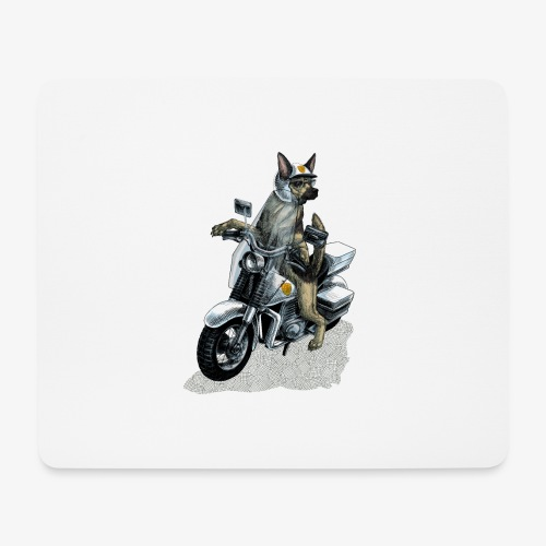 Police Dog - Mouse Pad (horizontal)