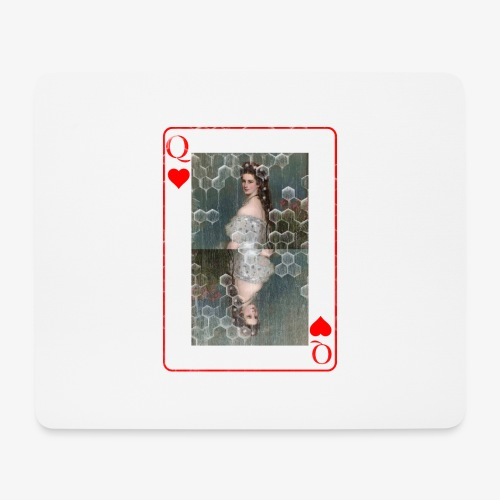 Kaiserin Sissi spielkarte Österreich - Mousepad (Querformat)
