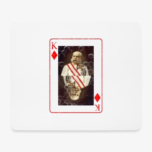 Kaiser Franz von Österreich spielkarte - Mousepad (Querformat)
