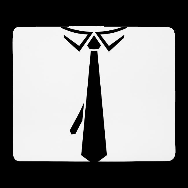 5469892515aa Krawatte Schlips Anzug zur Promotion | Mousepad (Querformat)
