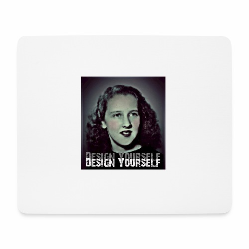 Design Yourself - Mousepad (Querformat)