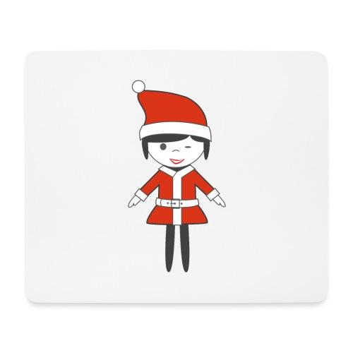 Doctora Retail Navidad - Alfombrilla de ratón (horizontal)