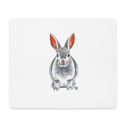 Hase - Mousepad (Querformat)