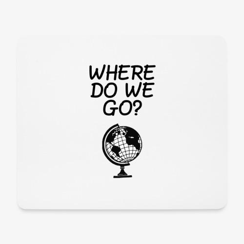 WorldMap | WhereDoWeGo? - Tappetino per mouse (orizzontale)